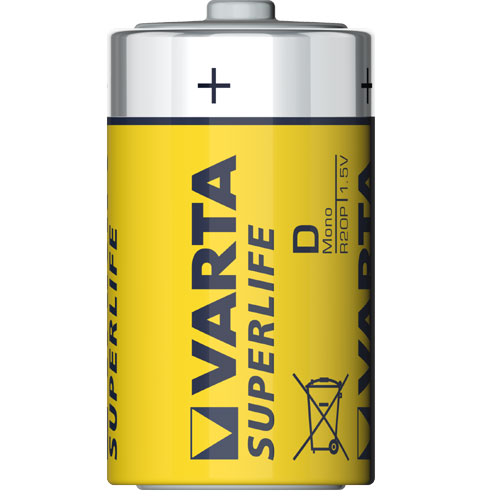 Bateria Superlife - R20 - Varta
