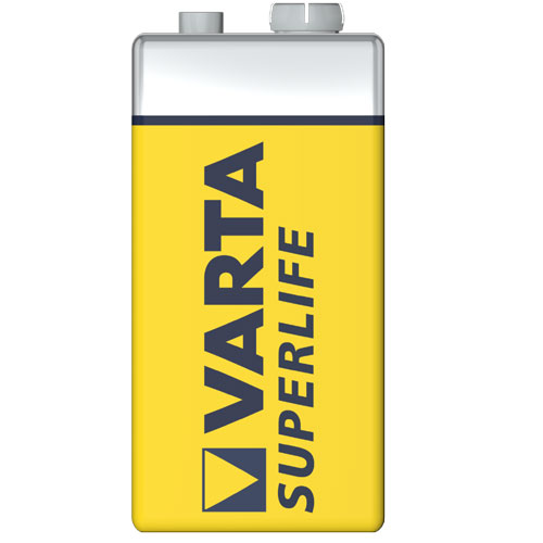 Bateria Superlife - 6F22 - Varta